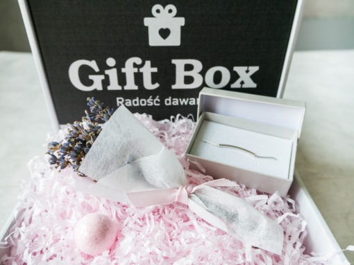 """Mały Box """"Lawendowy"""""""