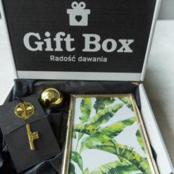 Mały Box czarno-złoty