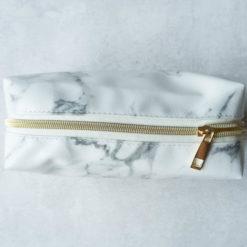 Kosmetyczka Złoto-Marmurowa