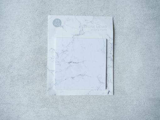 Karteczki organizacyjne marmur