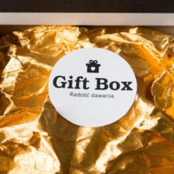 """Damski Box """"W złocie skąpany"""""""