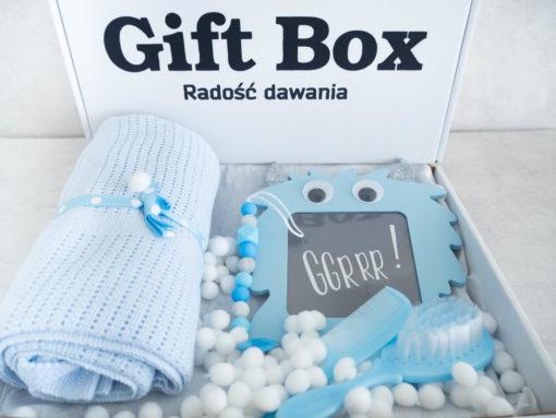 """Chłopięcy Box """"Niebieski Potworek"""""""