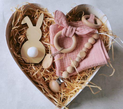"""Gift Box niemowlęcy """"Serduszko dla maluszka"""""""