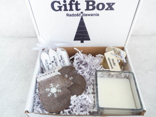 """Świąteczny Box dla Niej """"Rękawiczki"""""""