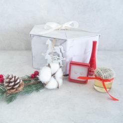 """Świąteczny Box """"Śnieżynka"""""""