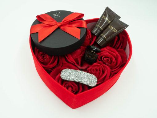"Gift Box dla Niej ""Versace Heart"""