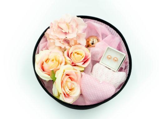 "Damski Gift Box ""Rose Pearls"""