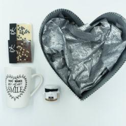 "Gift Box ""Silver Heart"""