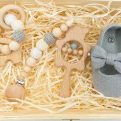 """Dziewczęcy Box """"Drewniane pudełko"""""""