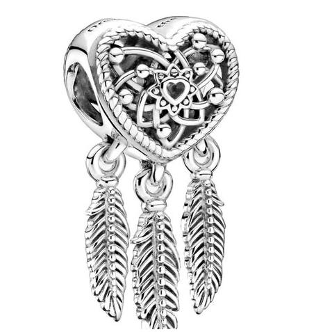 Zawieszka do bransoletki, srebro 925, różne wzory